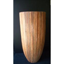 BSP-6701 Fiber Glass/Bark Planter