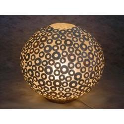 LS007286 White Cocoring Lamp