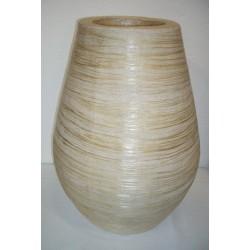 AW206001 Cotton&abaca Vase