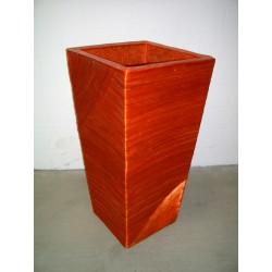 AW205116 Abaca Square Rib Vase