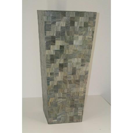 AW209508 XL Abaca / Fiberglass Sq. Vase