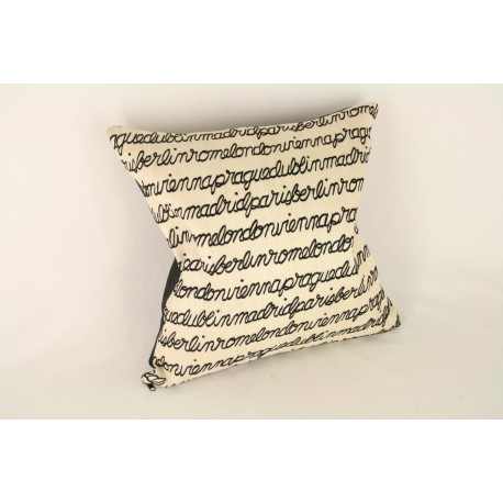 TP010113 white european print pillow