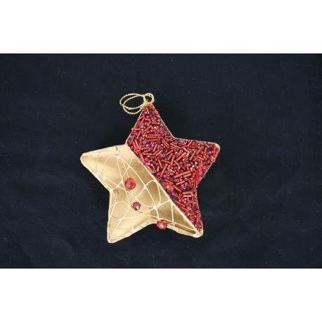 1-0233 Ornament 5pt star