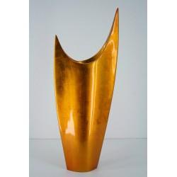 337 cresent moon vase