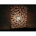 Brown Coco SQ Lamp LS006555A