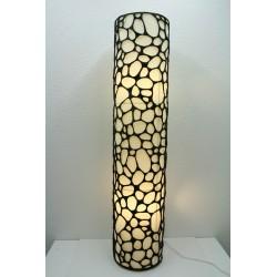 TW-27 floor lamp cylindrical lattice shade