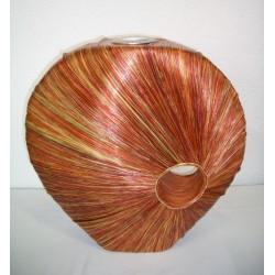 AW206026 Abaca Rays Vase