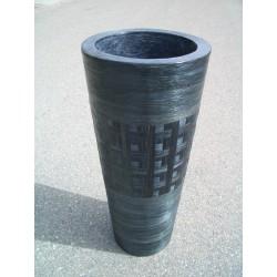 AW206037 Abaca Weave Vase