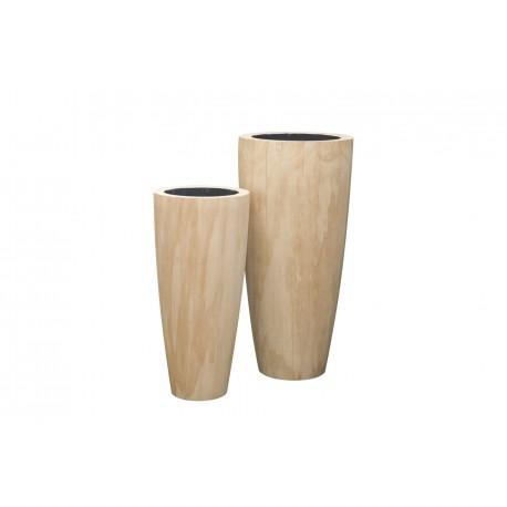 52-16702-S1-15 Rd. Wood décor fiberstone