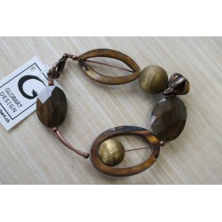 XB-017 Shell & Balls Bracelet