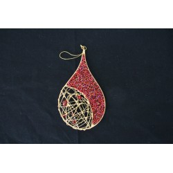 1-0048 Ornament teardrop