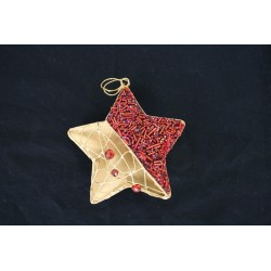 1-0233 Ornament 5pt star